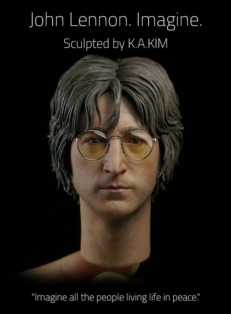 John Lennon Action Figure 1/6 Imagine