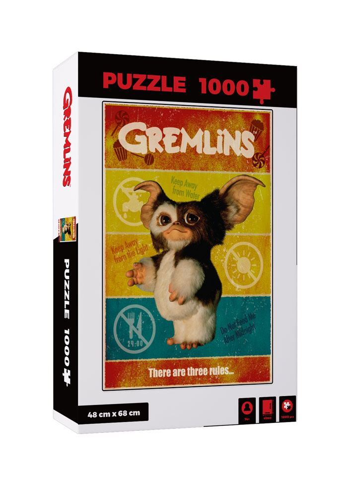 Gremlins Jigsaw Puzzle There Are Three Rules