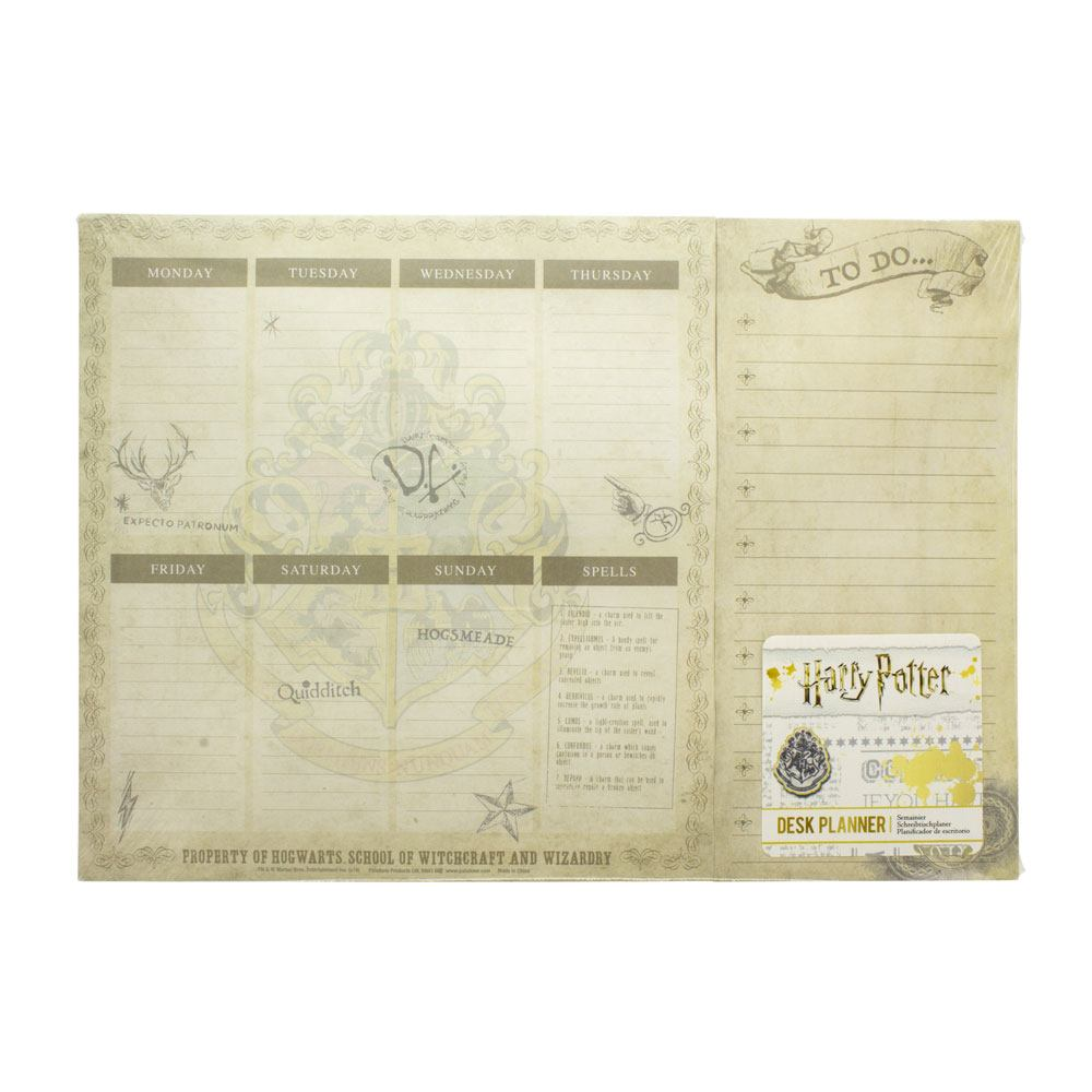 Harry Potter Desk Pad Weekly Planner 18 x 23 cm
