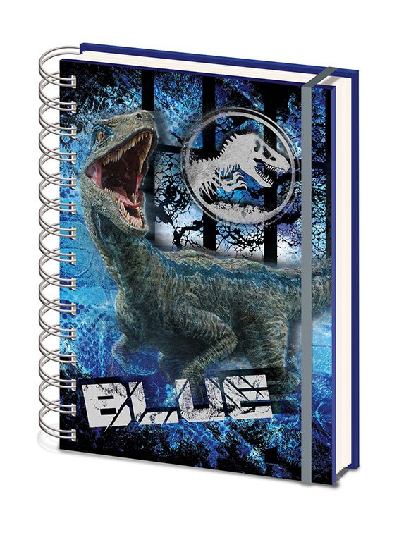 Jurassic World Fallen Kingdom Wiro Notebook A5 Contain