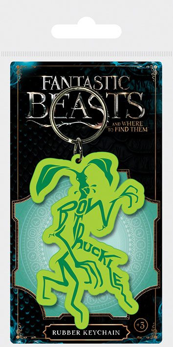 Fantastic Beasts Rubber Keychain Bowtruckle 6 cm