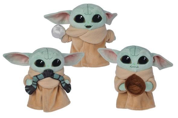 Star Wars The Mandalorian Plush Figures The Child 17 cm Assortment (12)