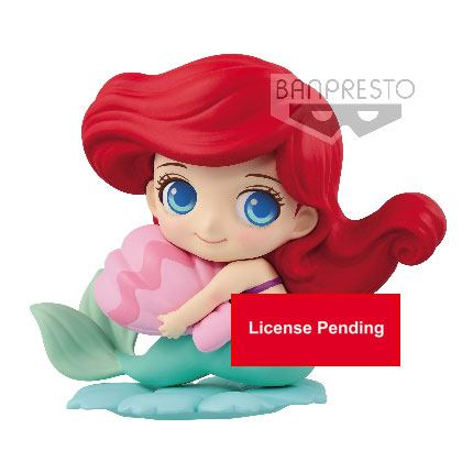 Disney Q Posket Sweetiny Mini Figure Ariel Normal Color Ver. 10 cm