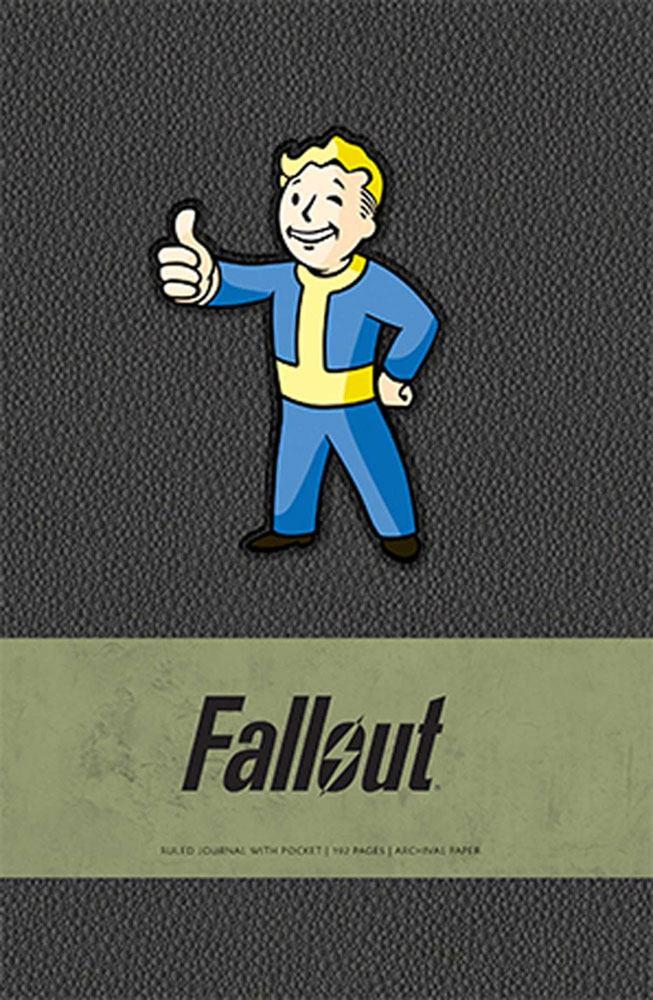 Fallout Hardcover Ruled Journal Vault Boy