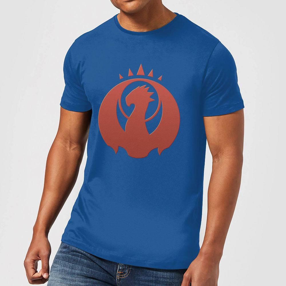 Magic the Gathering T-Shirt Izzet Symbol Size L