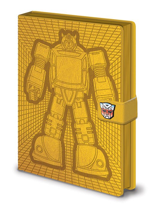 Transformers G1 Premium Notebook A5 Bumblebee
