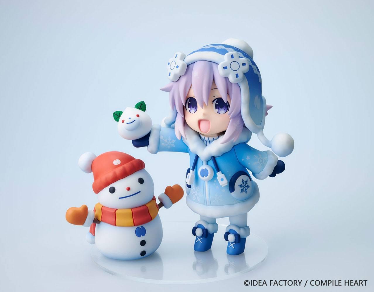 Hyperdimension Neptunia Statue Dekachiccha! Snow Nep Normal Version 18 cm