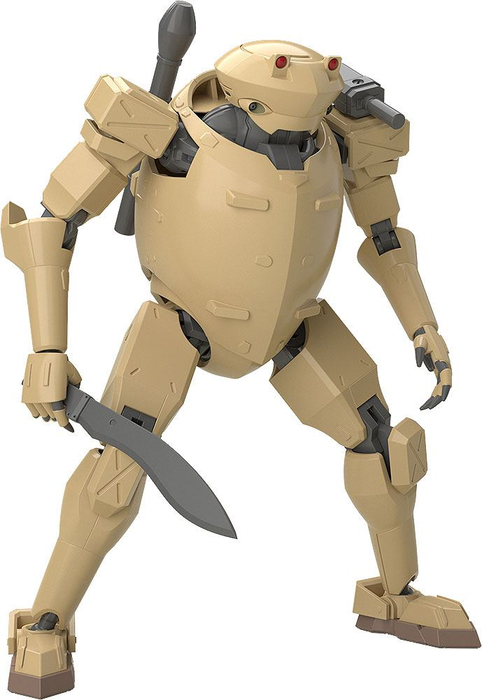 Full Metal Panic! Invisible Victory Moderoid Plastic Model Kit Rk-92 Savage (SAND) 13 cm
