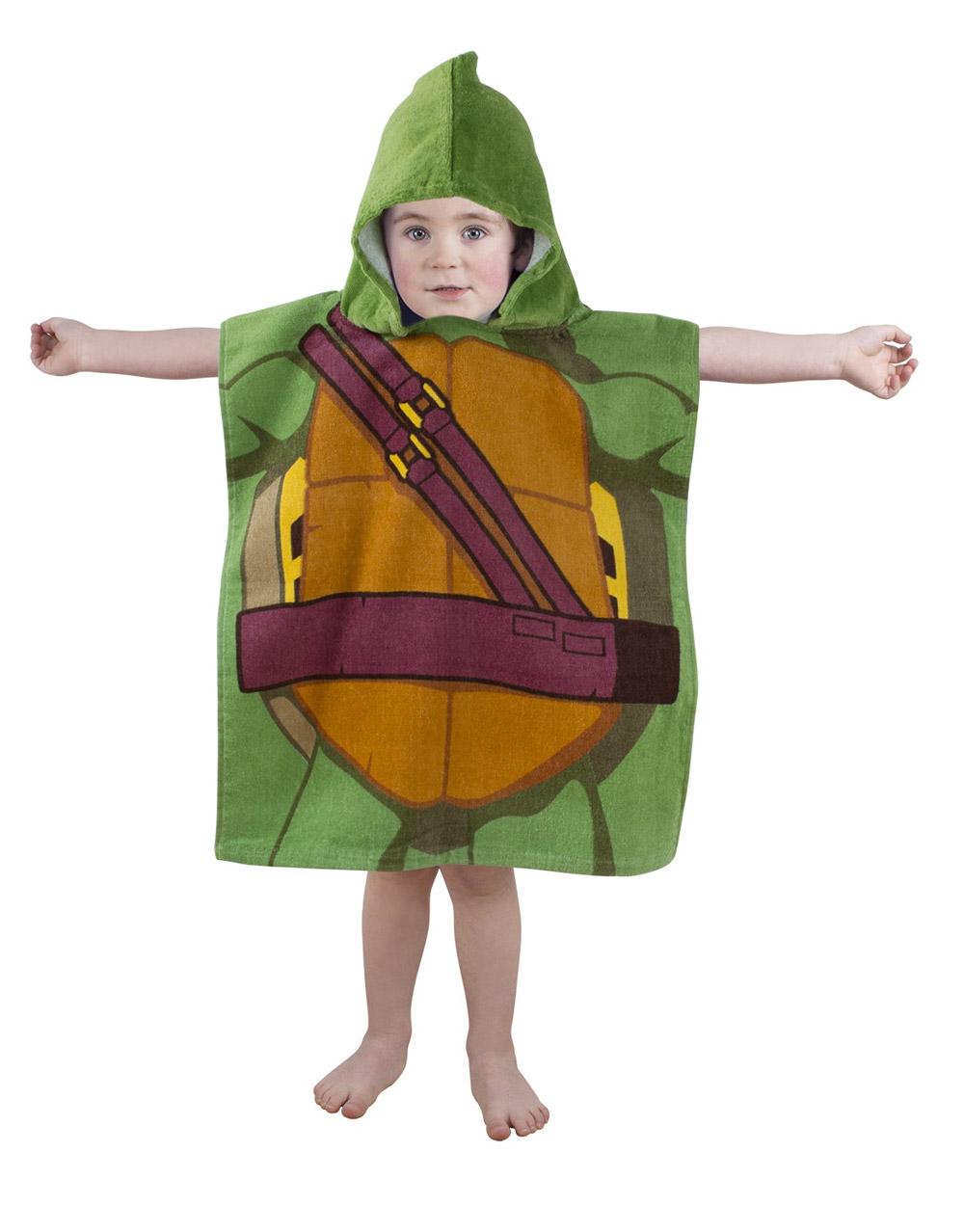 Teenage Mutant Ninja Turtles Towel (Hooded Poncho) Dudes 115 x 50 cm