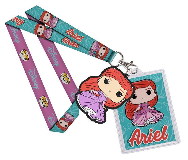 Disney POP! Lanyard with Rubber Keychain Ariel