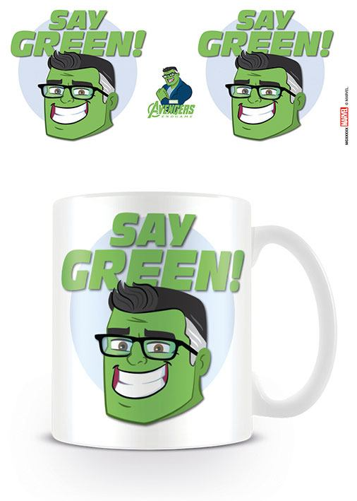 Avengers: Endgame Mug Say Green