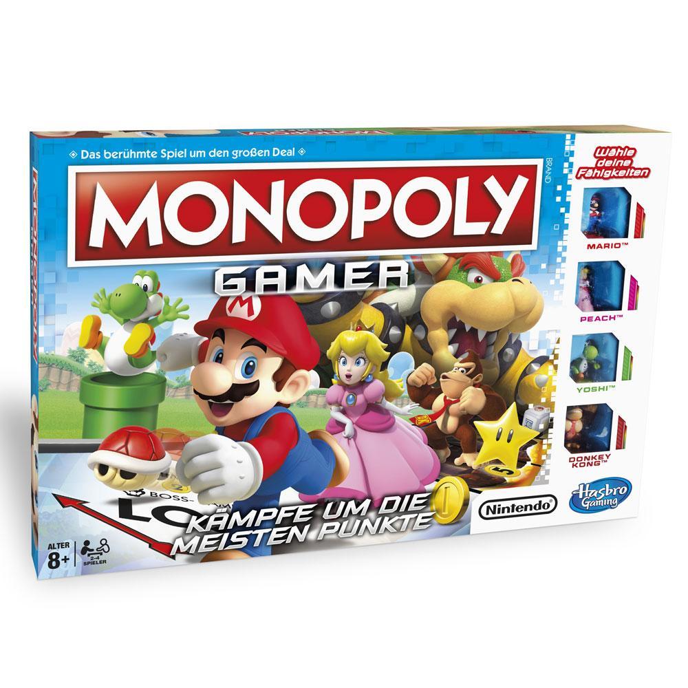 Nintendo Board Game Monopoly Gamer Mario Edition *German Version*