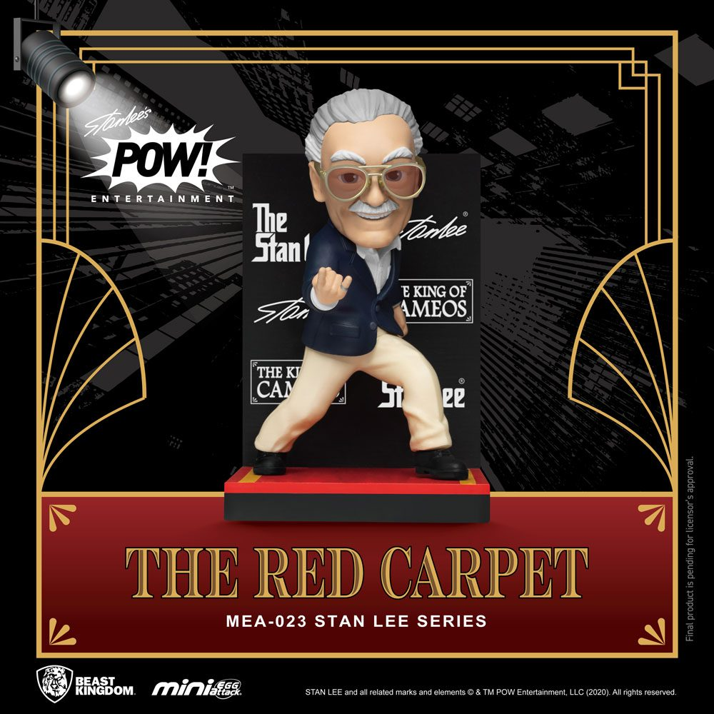 Stan Lee Mini Egg Attack Action Figure Stan Lee The Red Carpet 8 cm
