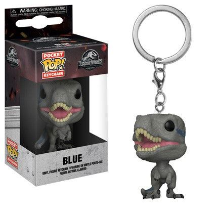 Jurassic World 2 Pocket POP! Vinyl Keychain Blue 4 cm
