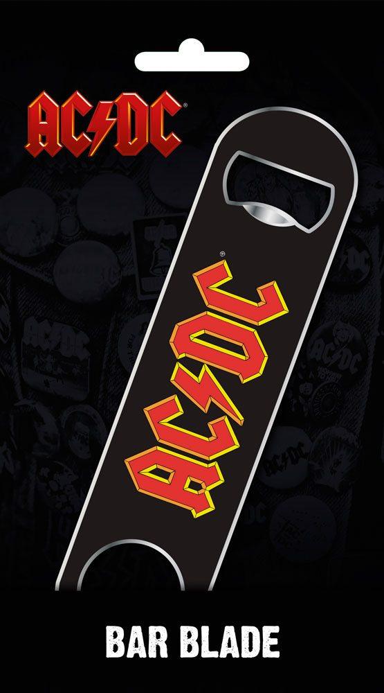 AC/DC Bar Blade / Bottle Opener Logo 12 cm