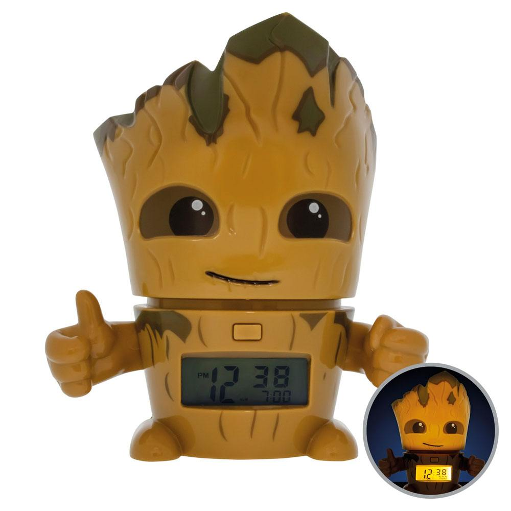Guardians of the Galaxy Vol. 2 BulbBotz Alarm Clock with Light Groot 14 cm