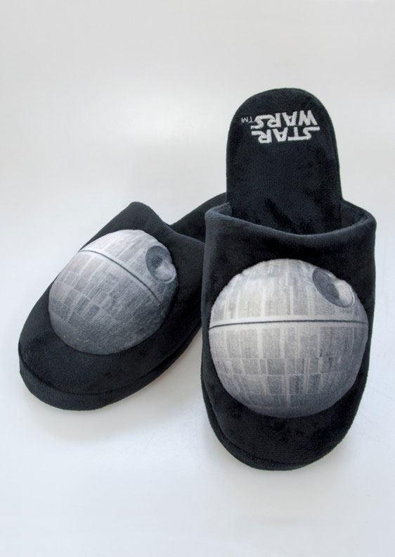 Star Wars Slippers Death Star  Size L