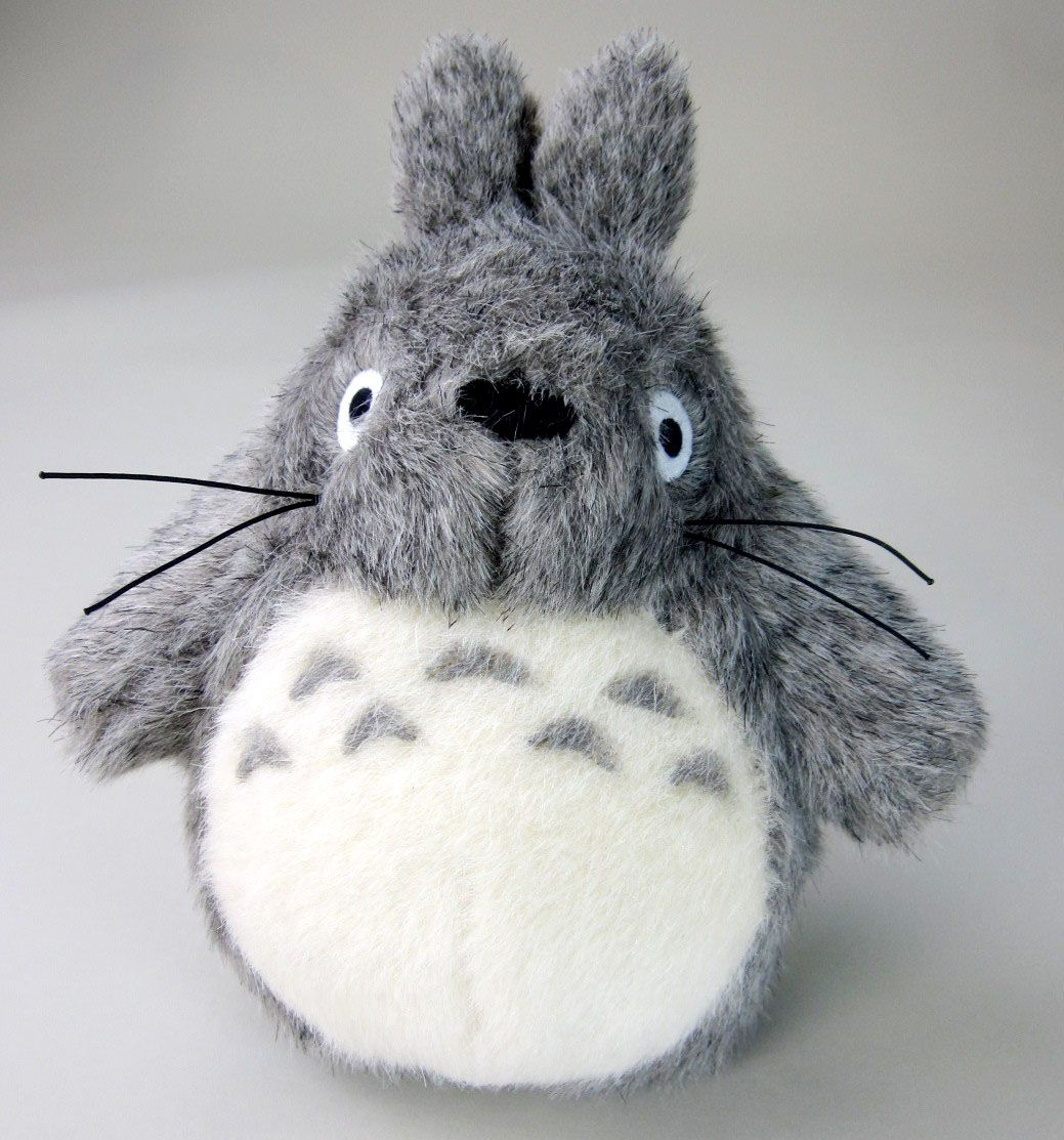 Studio Ghibli My Neighbour Totoro Light Grey Big Totoro 20cm Plush Figure