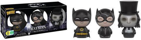 Batman Returns Dorbz Vinyl Figures 3-Pack Batman, Catwoman, Penguin SDCC 2016 Exclusive 8 cm
