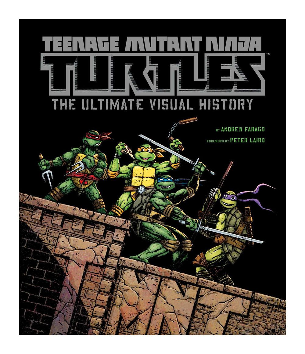 Teenage Mutant Ninja Turtles Art Book The Ultimate Visual History