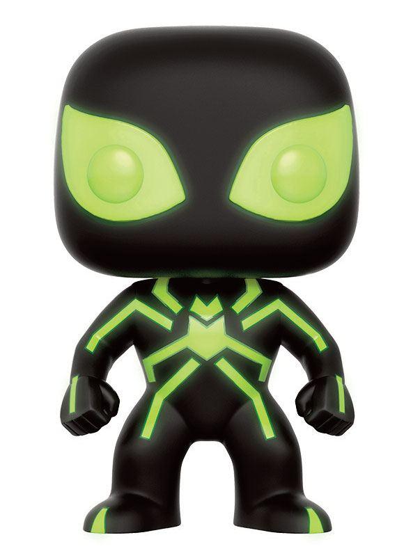 Marvel Comics POP! Marvel Vinyl Figure Spider-Man Stealth Costume GITD 9 cm