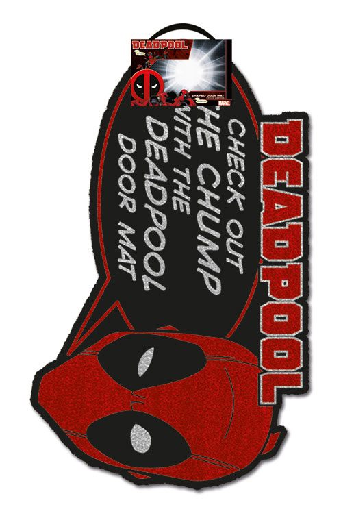 Deadpool Doormat Chump 40 x 60 cm