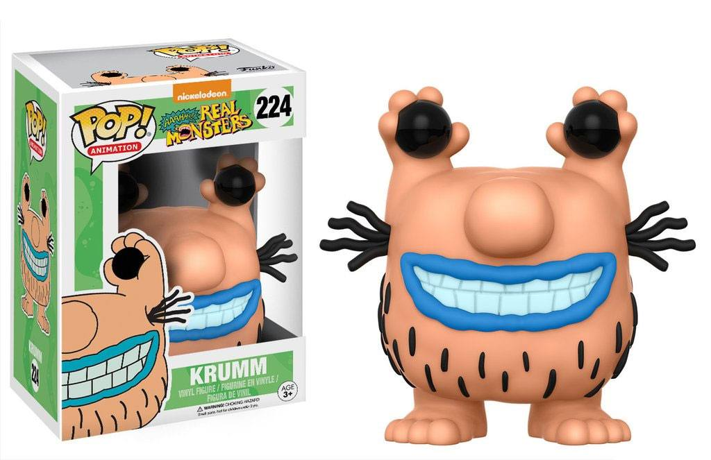 Aaahh!!! Real Monsters POP! Animation Vinyl Figure Krumm 9 cm