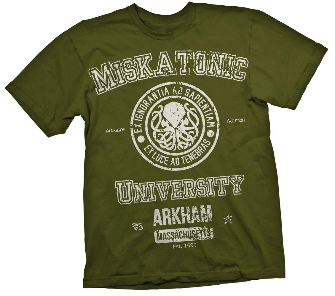 Cthulhu T-Shirt Miskatonic Size L