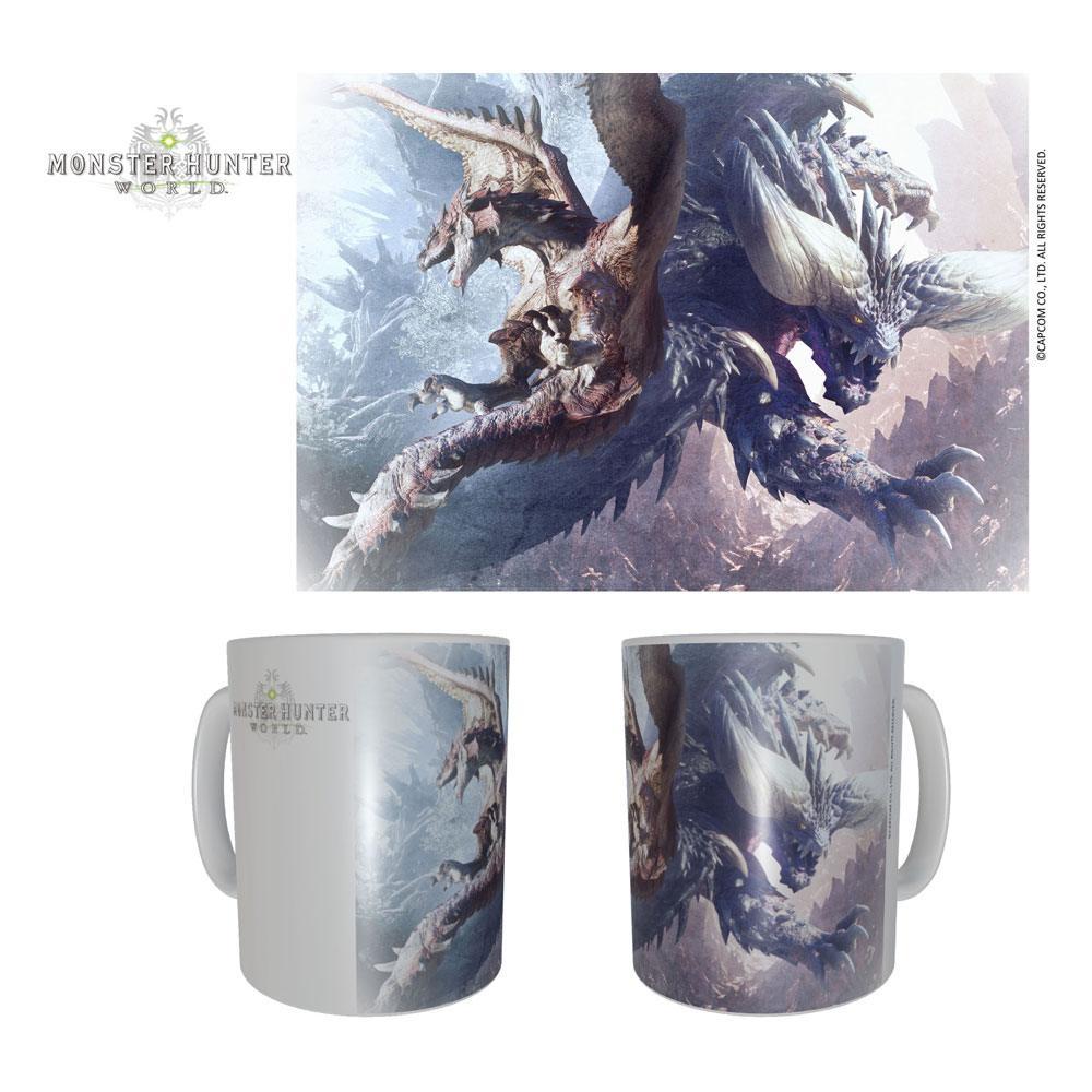 Monster Hunter Ceramic Mug Rathalos & Nergikante