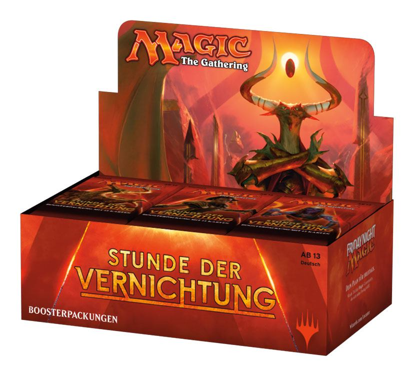 Magic the Gathering Stunde der Vernichtung Booster Display (36) german
