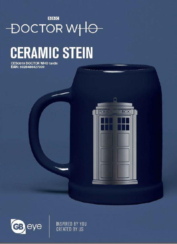 Doctor Who Stein Tardis