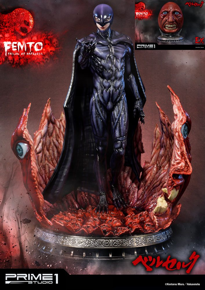 Berserk Statue 1/4 Femto & Femto Exclusive 68 cm Assortment (3)