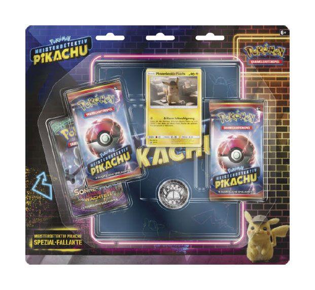 Pokémon: Meisterdetektiv Pikachu Spezial-Fallakte Blister + 4-Pocket Portfolio *German Version*