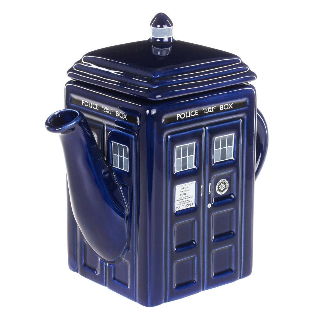 Doctor Who Teapot Tardis
