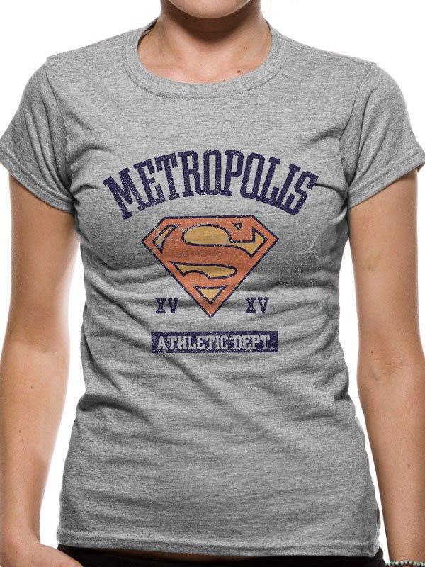 Supergirl Ladies T-Shirt Athletic Dept Size S