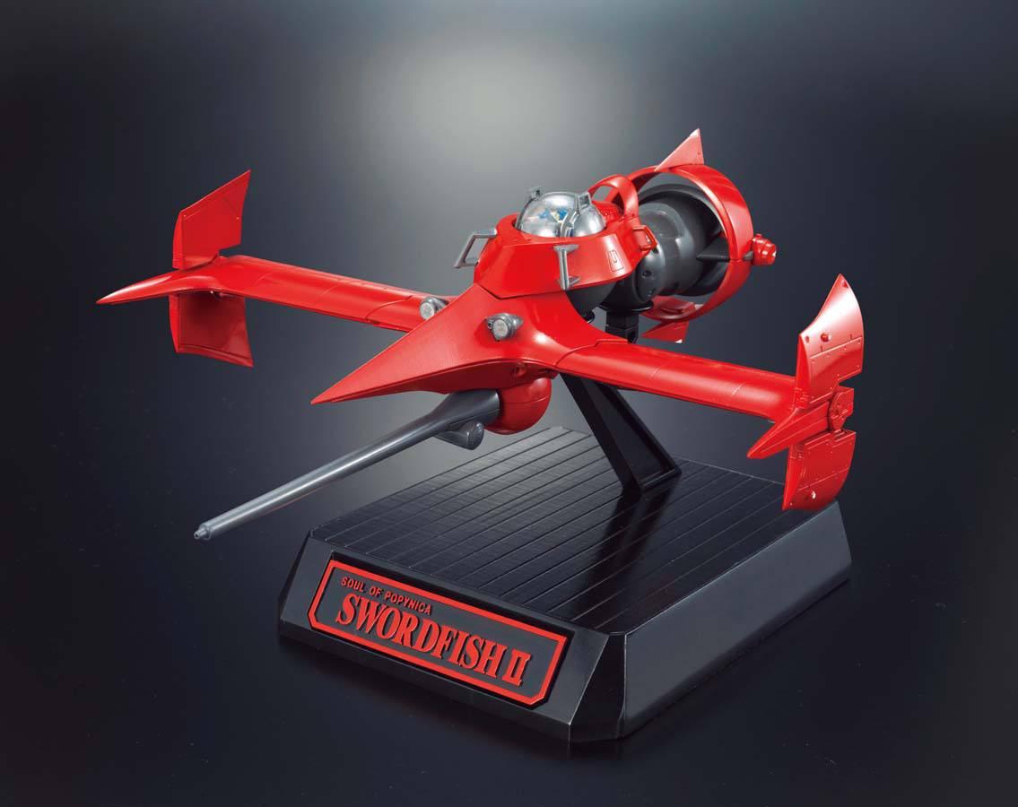 Cowboy Bebop Popinika Spirits Diecast Model Swordfish II 20 cm