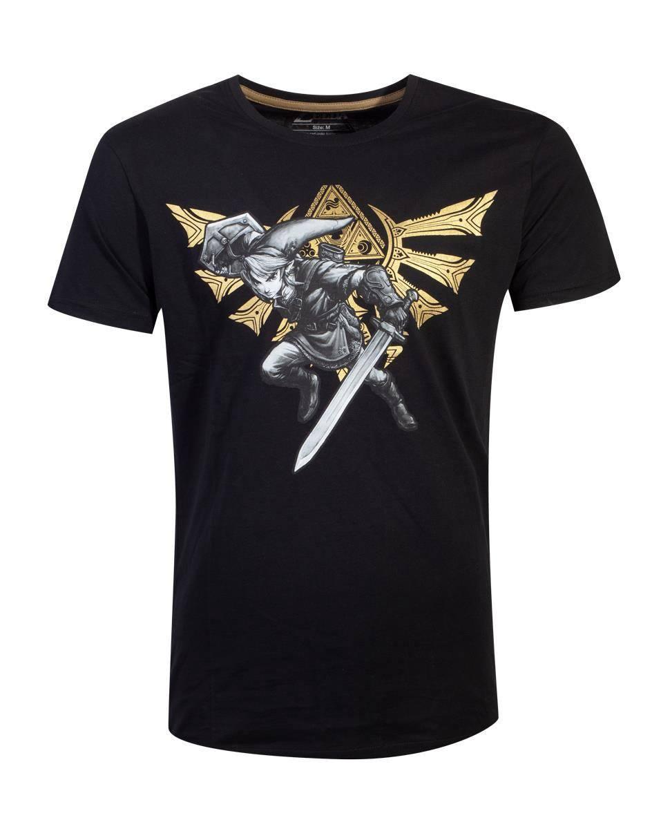 The Legend of Zelda T-Shirt Hyrule Link Size S