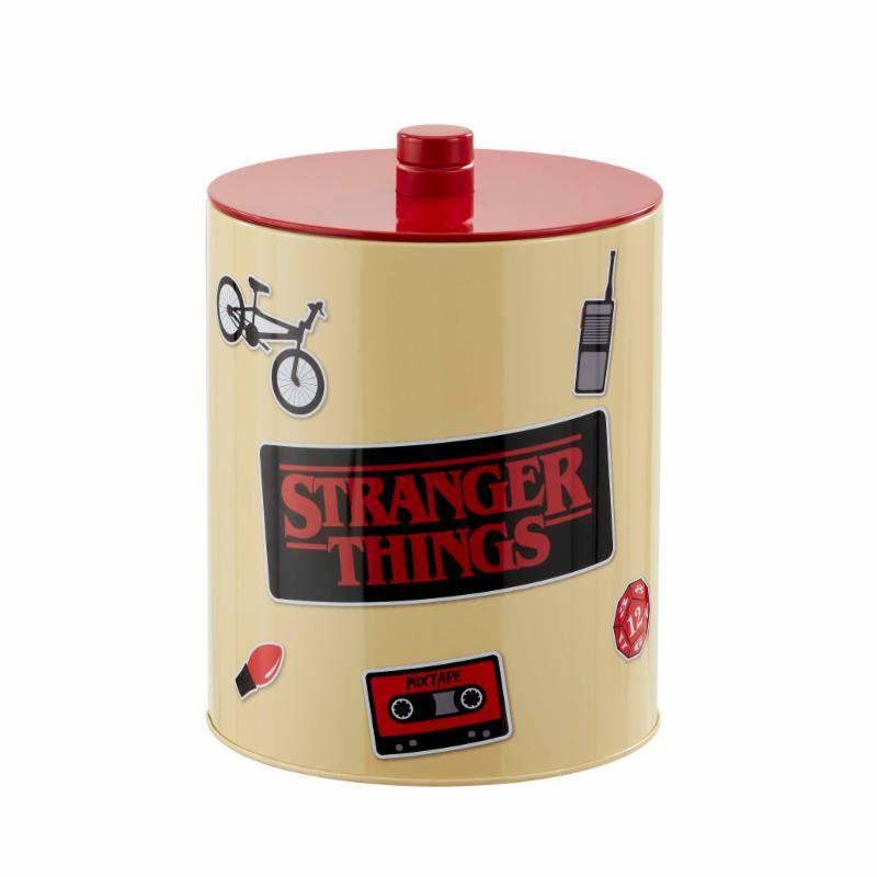 Stranger Things Cookie Jar Retro Poster