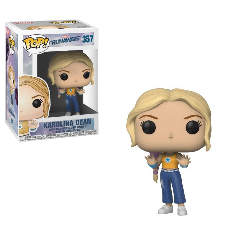 Marvel's Runaways POP! TV Vinyl Bobble-Head Karolina 9 cm