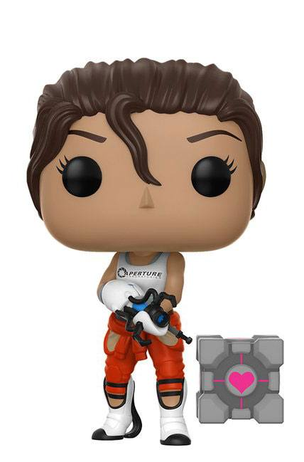 Portal 2 POP! Games Vinyl Figure Chell 9 cm