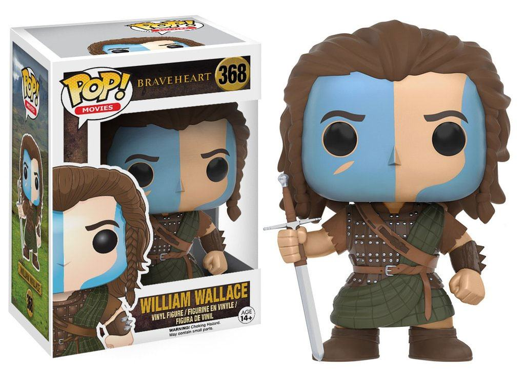 Braveheart POP! Movies Vinyl Figure William Wallace 9 cm