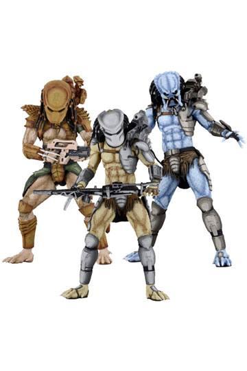 Alien vs Predator Action Figure 20 cm Predator Arcade Appearance Case (14)