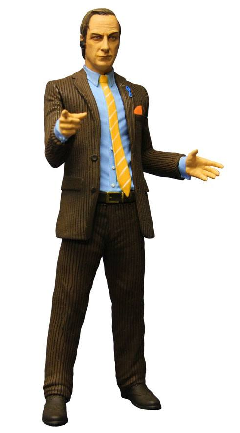 Breaking Bad Action Figure Saul Goodman Brown Suit Previews Exclusive 15 cm