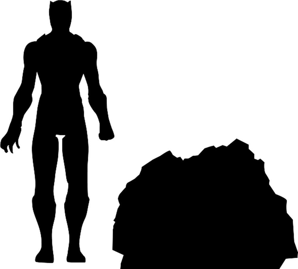 Black Panther Marvel Select Action Figure Black Panther 18 cm
