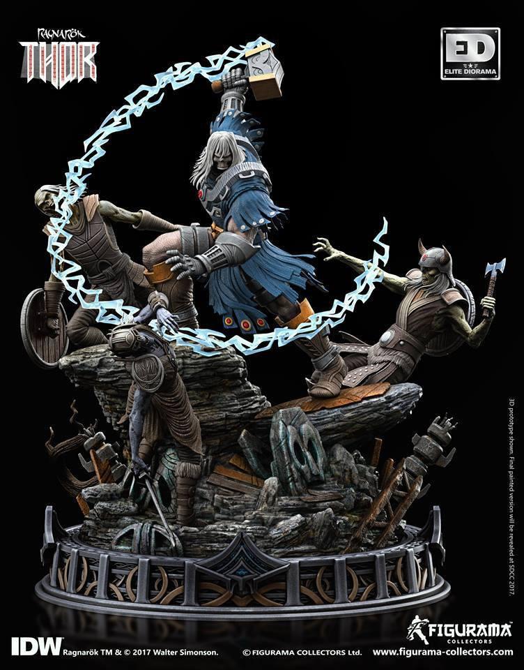 Ragnarök Elite Diorama Statue Thor 46 cm