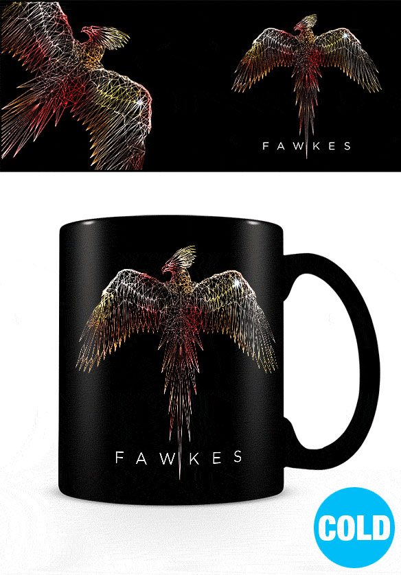 Harry Potter Heat Change Mug Fawkes