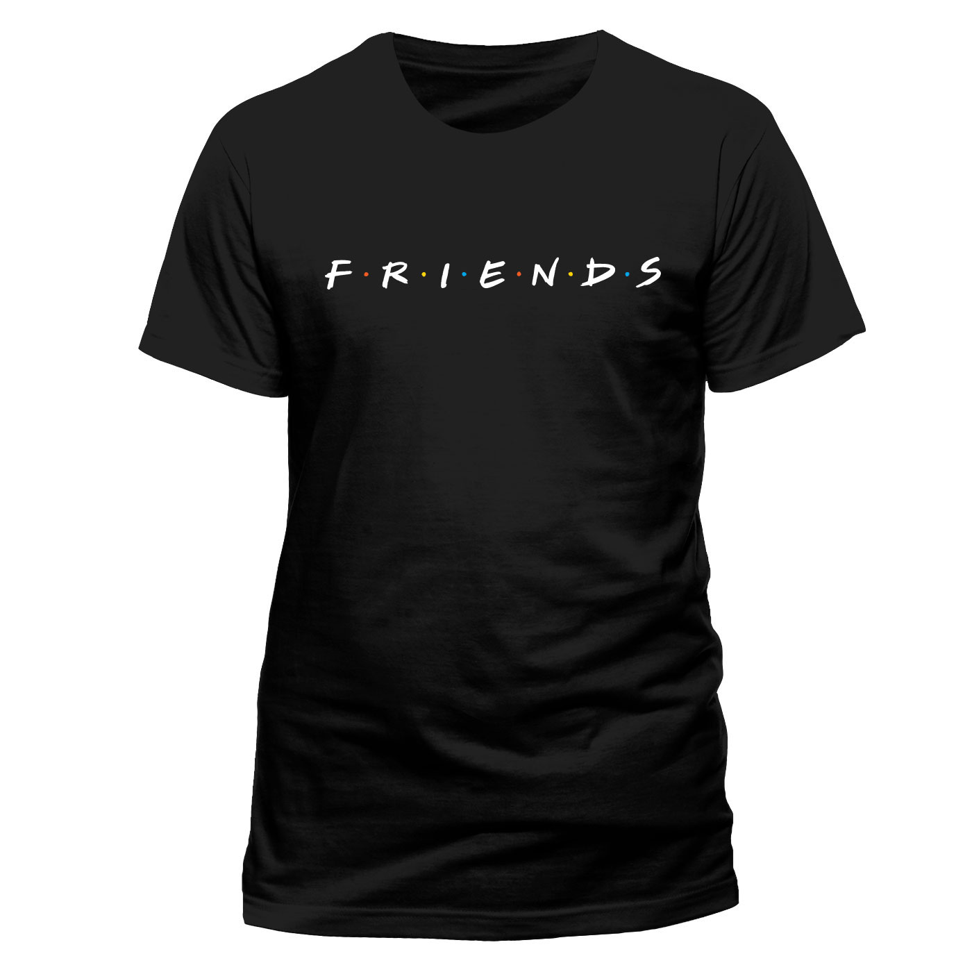 Friends T-Shirt Logo Size L