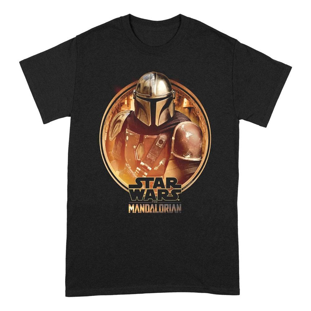 Star Wars The Mandalorian T-Shirt Framed Size L