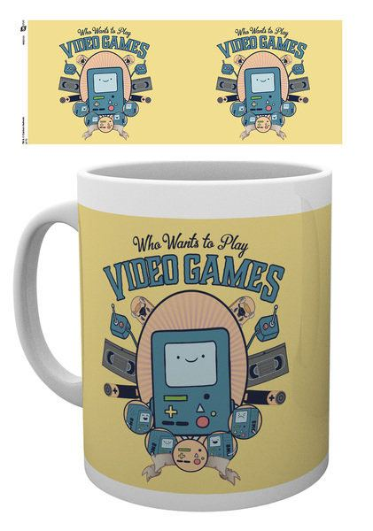 Adventure Time Mug Video Games