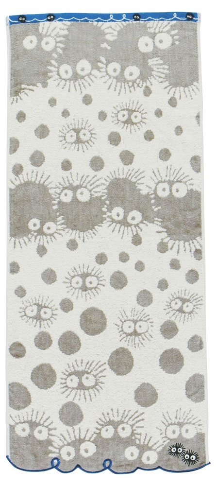 My Neighbor Totoro Towel Kurosuke 34 x 80 cm